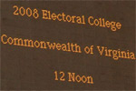 Photographs from the Historic Electoral Vote